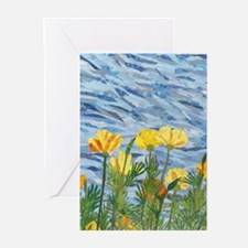 Cailfornia Poppies Greeting Cards