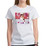 Open Your Heart to a Chained Women's T-Shirt