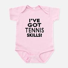 Tennis Skills Designs Onesie