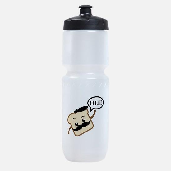 French Toast Sports Bottle