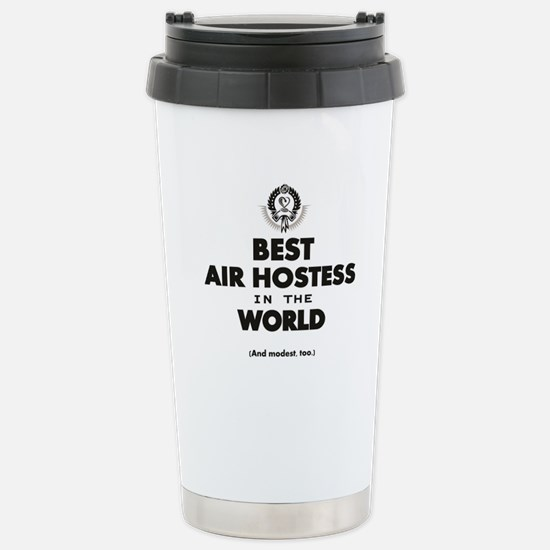 Air Hostess Stainless Steel Travel Mug
