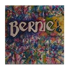 bernie 16 hippy Tile Coaster