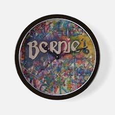 bernie 16 hippy Wall Clock