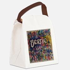 bernie 16 hippy Canvas Lunch Bag