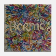 bernie 16 hippy 2 Tile Coaster