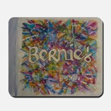 bernie 16 hippy 2 Mousepad
