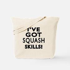 Squash Skills Designs Tote Bag