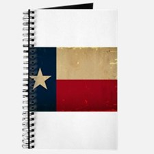 Texas State Flag VINTAGE Journal