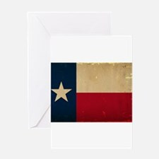 Texas State Flag VINTAGE Greeting Card