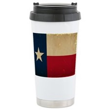 Texas State Flag VINTAG Travel Mug