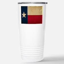 Texas State Flag VINTAG Travel Mug