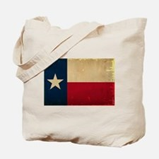 Texas State Flag VINTAGE Tote Bag