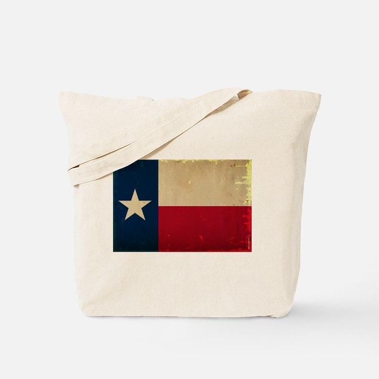 Texas State Flag VINTAGE Tote Bag