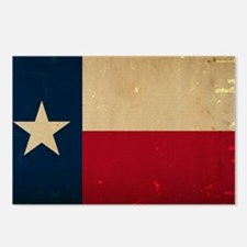 Texas State Flag VINTAGE Postcards (Package of 8)