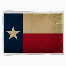 Texas State Flag VINTAGE Pillow Sham