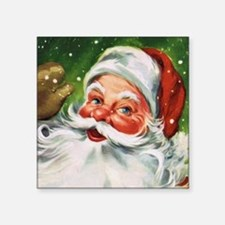Vintage Santa Face 1 Sticker