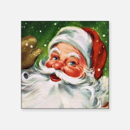 Vintage Santa Face 1 Sticker
