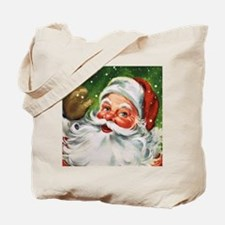 Vintage Santa Face 1 Tote Bag