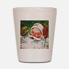 Vintage Santa Face 1 Shot Glass