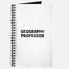 Geography Professor Journal
