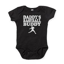 Daddys Baseball Buddy Baby Bodysuit
