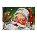 Santa claus Area Rugs