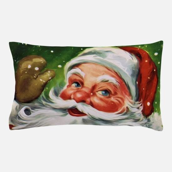 Vintage Santa Face 1 Pillow Case