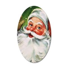 Vintage Santa Face 1 Wall Decal