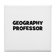 Geography Professor Tile Coaster