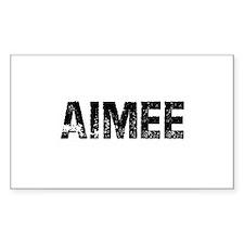 Aimee Rectangle Decal