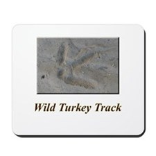 Wild Turkey Track Mousepad
