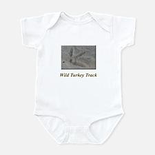 Wild Turkey Track Infant Bodysuit