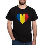 Romanian Heart Dark T-Shirt