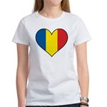 Romanian Heart Women's T-Shirt