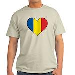 Romanian Heart Light T-Shirt