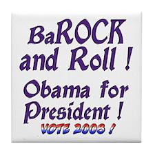 BaRock and Roll Tile Coaster