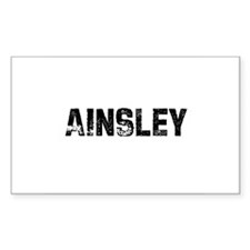 Ainsley Rectangle Decal