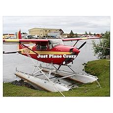 Just plane crazy: float plane 22 Poster