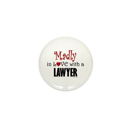 Madly In Love (Lawyer) Mini Button (100 pack)
