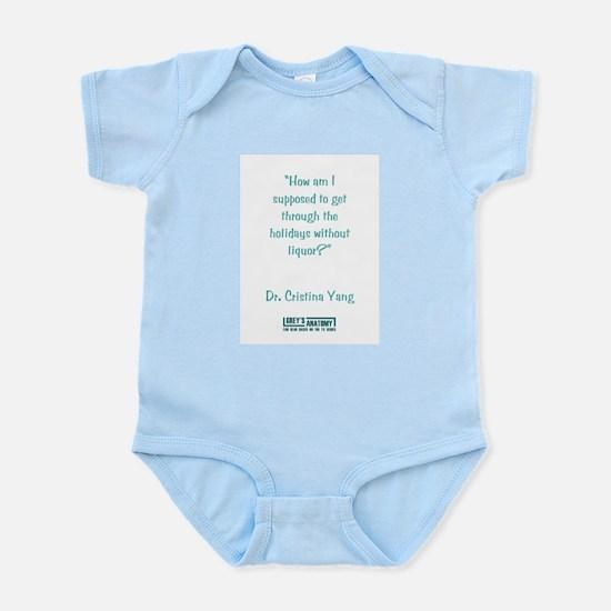 NO LIQUOR? Infant Bodysuit