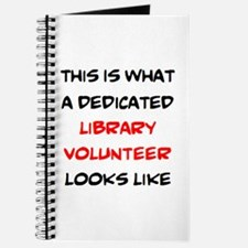 awesome library volunteer Journal