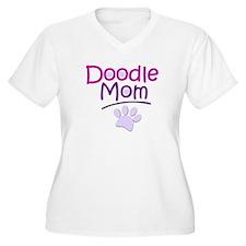 Doodle Mom Plus Size T-Shirt