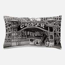 Wooden Roller Coaster, 1926 Pillow Case