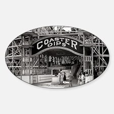 Wooden Roller Coaster, 1926 Decal