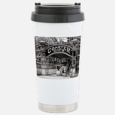 Wooden Roller Coaster,  Stainless Steel Travel Mug
