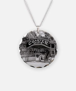Wooden Roller Coaster, 1926 Necklace