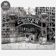 Wooden Roller Coaster, 1926 Puzzle