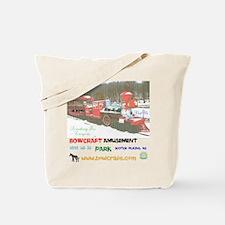 BOWCRAFT AMUSEMENT PARK TRAIN. Tote Bag