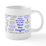Dog groomer Mega Mugs (20 Oz)