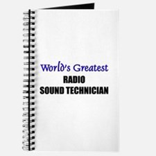 Worlds Greatest RADIO SOUND TECHNICIAN Journal